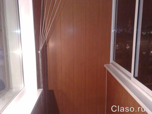 Отделка балкона своими руками: три варианта