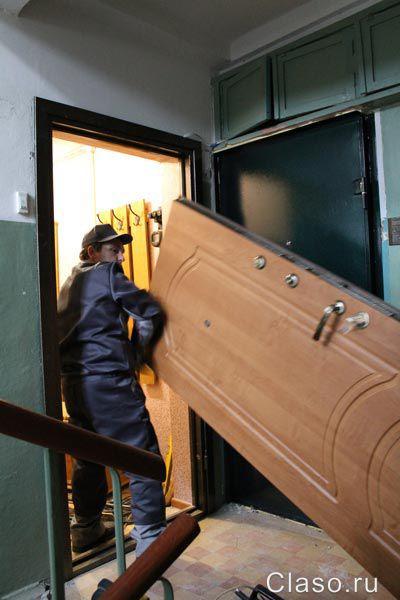 стальная дверь и установка