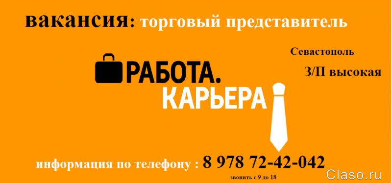 работа торговым представителем в москве без автомобиля были этом